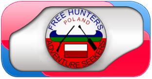 HOME (strona domowa)  Free Hunters Poland & Adventure Seekers Polish Radio dx Group HF and CB FOXTROT HOTEL  Polska Grupa Radiowa dx KF i CB www.freehunters.pl